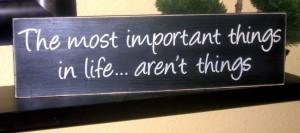 things in life